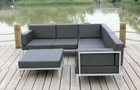 China Casual Selectional Metal Sofa Set Aluminum Outdoor ...