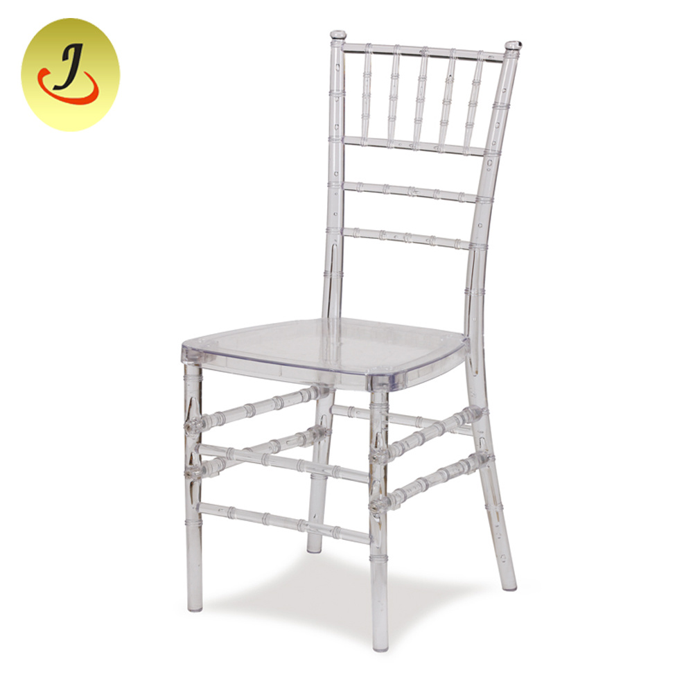 Resin Chairs Hot Item Modern Plastic Acrylic Resin Transparent Chiavari Clear Wedding And Event Dining Chairs