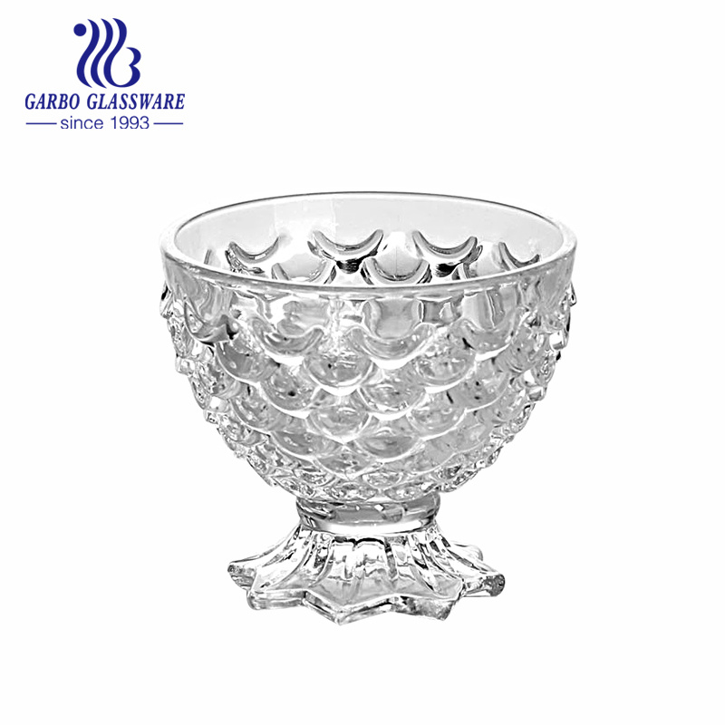 China 240ml Hotsale Fish Glass Ice Ceam Cup (GB1001YL