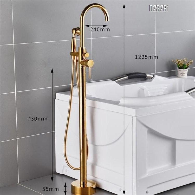 china floor stand basin bathtub faucet