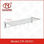 China Adjustable Wall Mounted Stainless Steel Single
