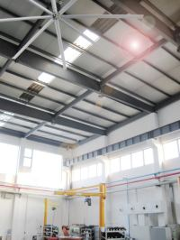 Industrial grade ceiling fans 34, how big of a ceiling fan ...