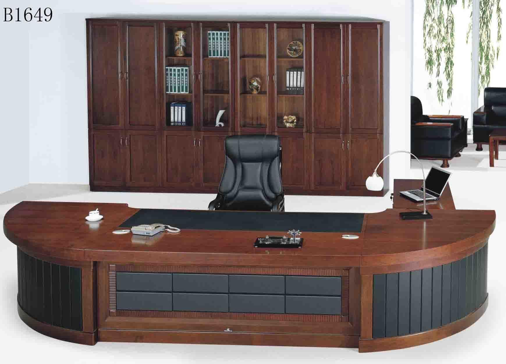 China Office Furniture Executive Desk B1649  China Office