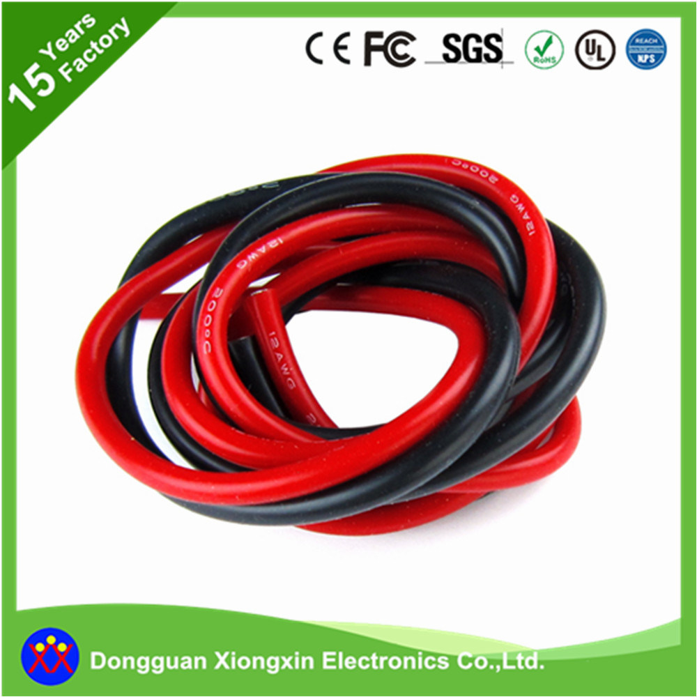 medium resolution of china ul cable factory customize flexible silicone cable 0 06mm copper conductor pvc xlpe tpe teflon insulated coaxial data electric electrical power wire