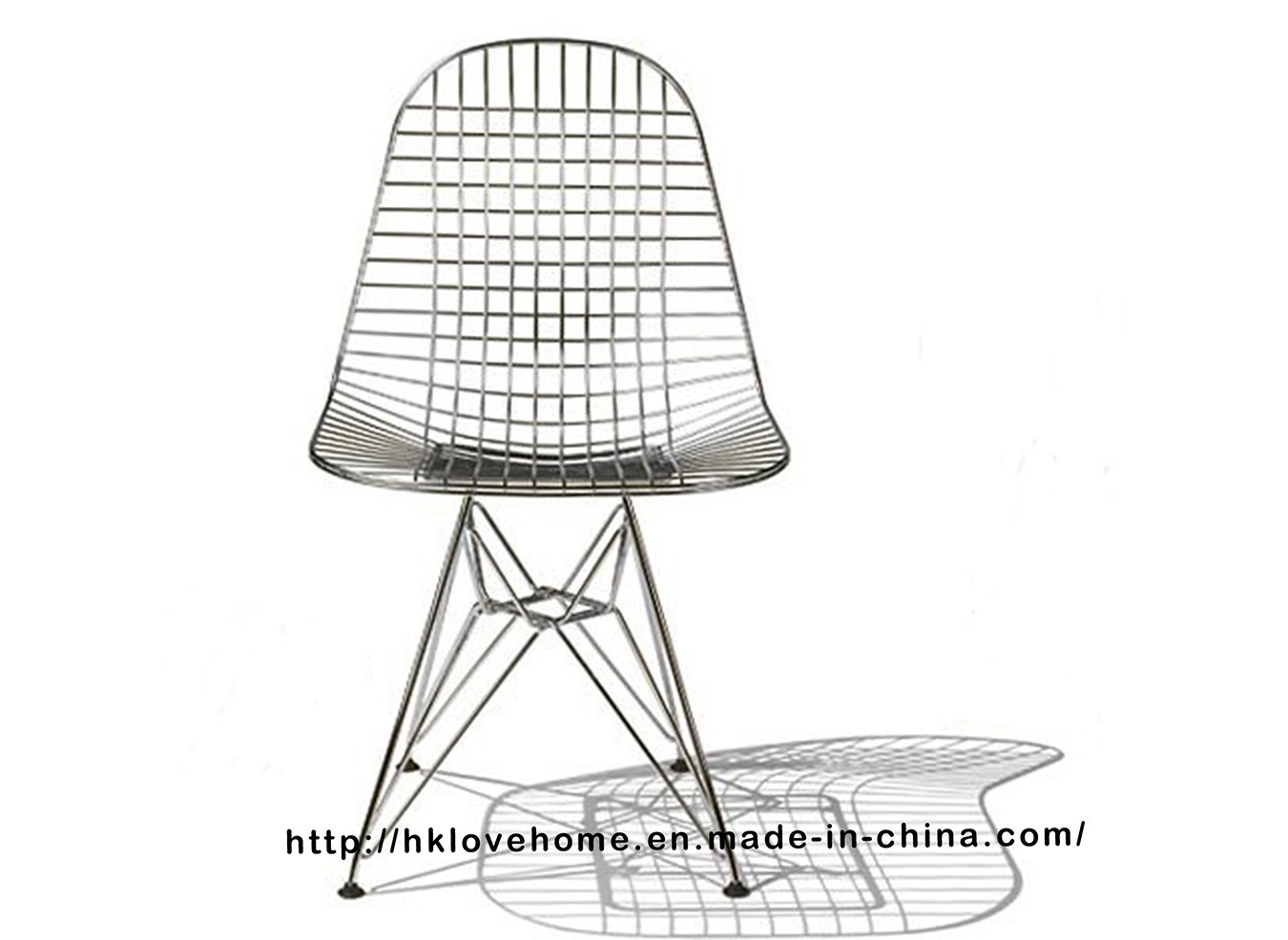 Eames Wire Chair Hot Item Modern Metal Restaurant Knock Down Wire Eames Side Chair