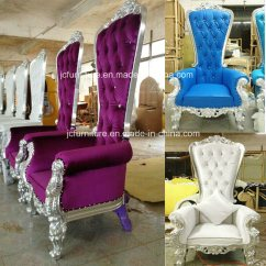 Alibaba Royal Chairs Kneeling Posture Chair Benefits Asian Food Near Me China Silver Luxury Throne For Sale Jc K