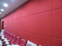 China Fiberglass Acoustic Wall Panel for Home Decoration