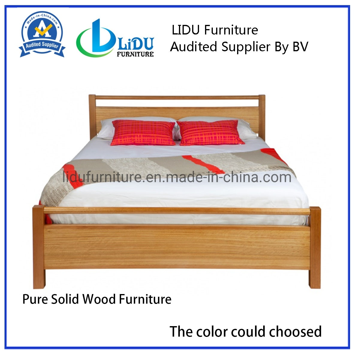 China Solid Wood Bed Pine Bedroom Furniture Modern Bed Solid Wooden Bed From China Pine Wood Kids Bunk Beds For Sale Photos Pictures Made In China Com
