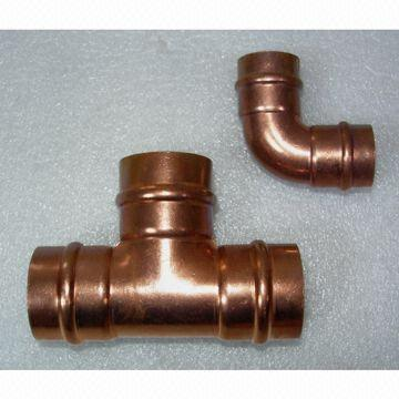 China Solder Ring Copper Pipe Fittings (AMA