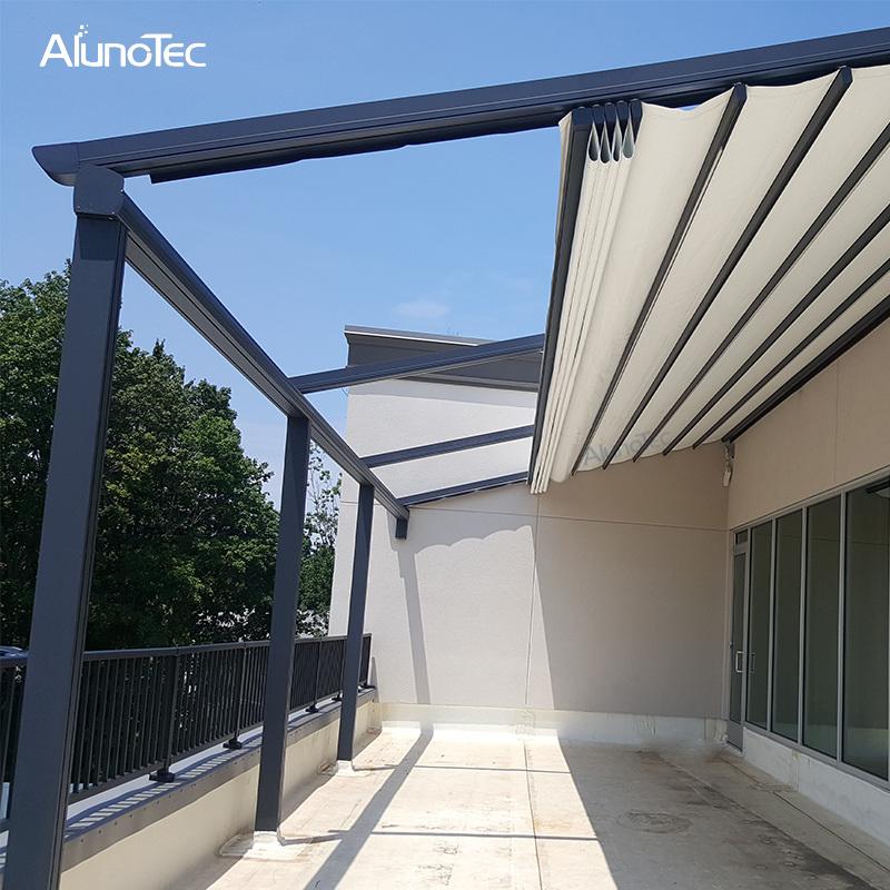 china waterproof roof awnings motorised