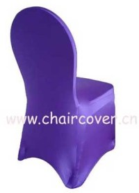 China Spandex Chair Cover (124 PURPLE) - China Chair Cover ...