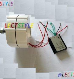 china 600w low rpm permanent magnet alternator for wind generator use china permanent magnet motor wind turbine [ 2984 x 2238 Pixel ]