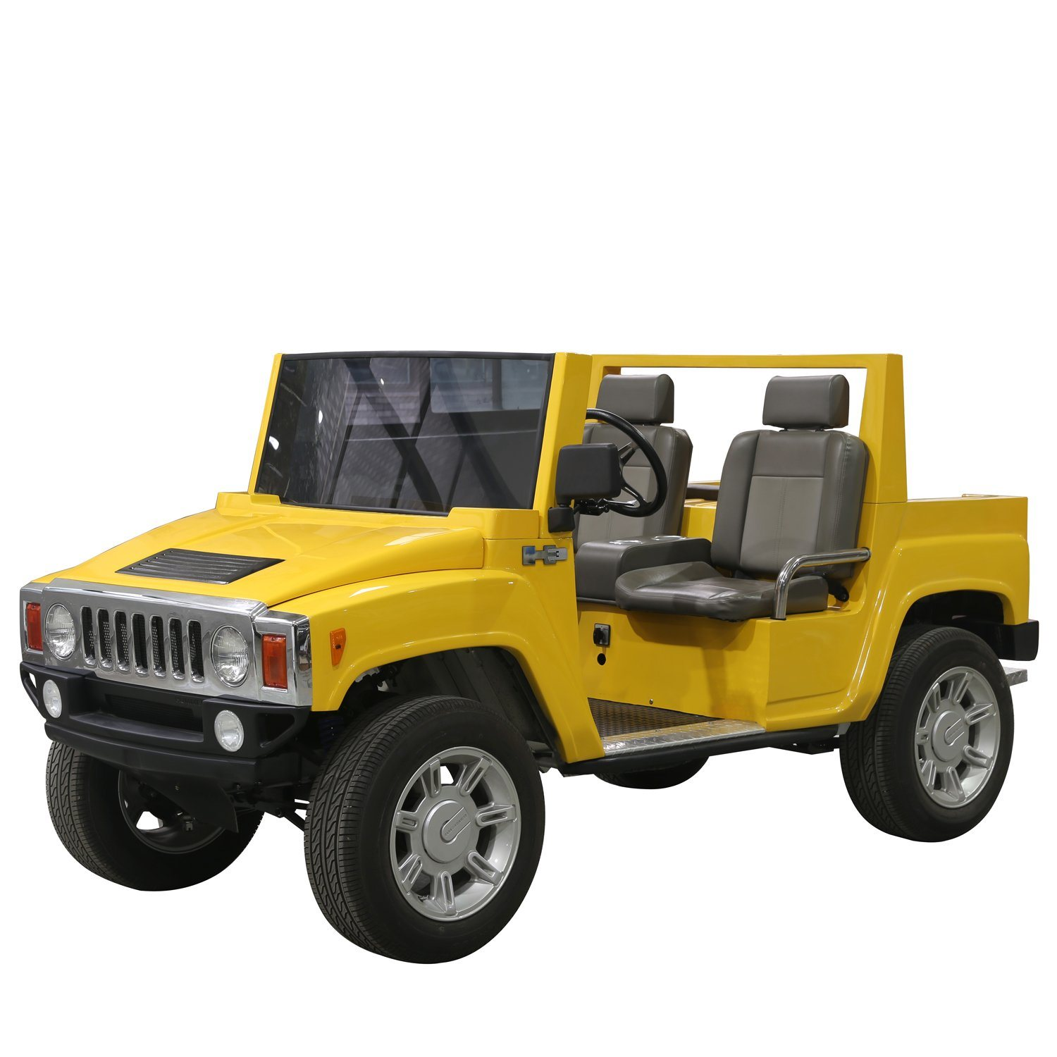China 4 5kw Electric Hummer Golf Car Good Quality SUV Jeep China