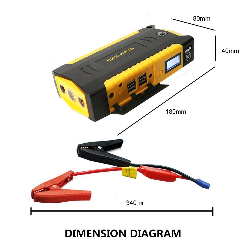 hight resolution of china ru 12 volt lithium ion battery car jump starter portable car battery charger power booster china jump starter super capacity jump starter