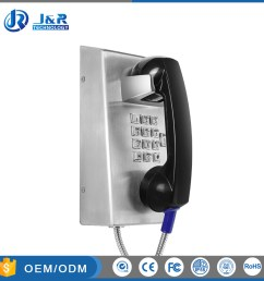 china explosion proof telephone sip voip wired jail telephone with hot sale china jr201 jail telephone jr201 prison phone [ 1000 x 1000 Pixel ]