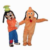 China Goofy and Pluto Dog Mascot Costume - China Goofy Dog ...