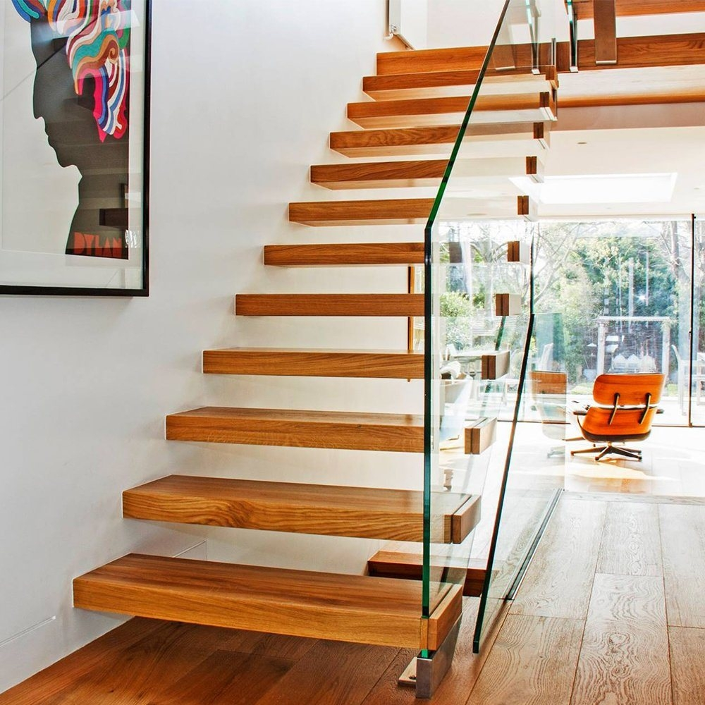 China Wooden Cantilever Staircase Designs For Homes China | Staircase Designs For Homes | Concrete | Contemporary | Modern | Round | Luxury