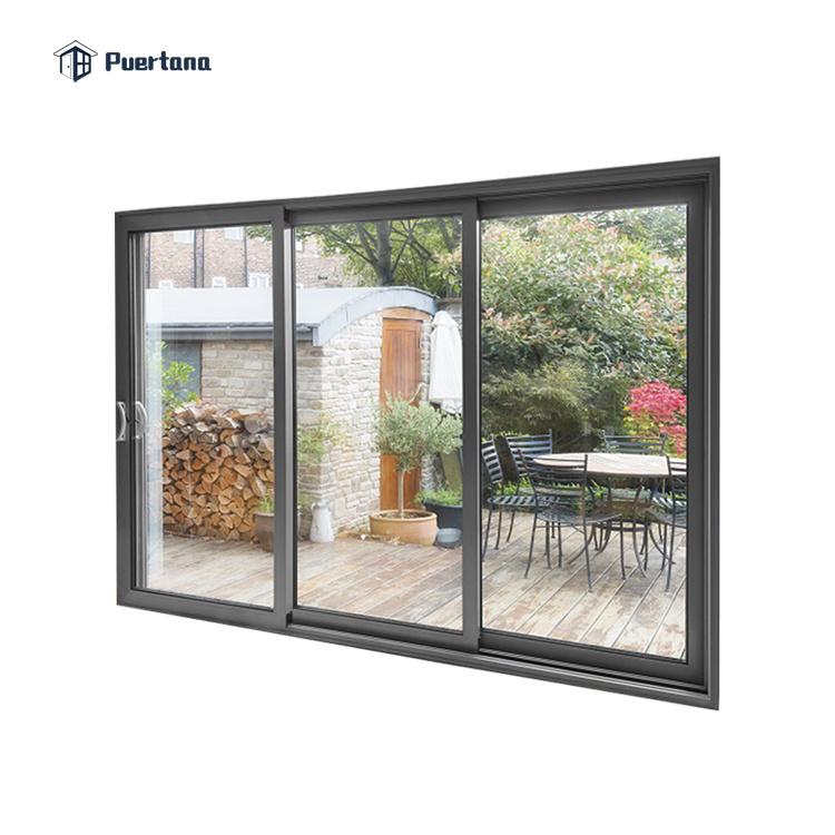hot item 120 x 96 exterior white powder coated aluminium sliding door external house