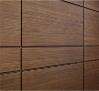 China Espresso Wood Look Aluminum Wall Panels Photos ...