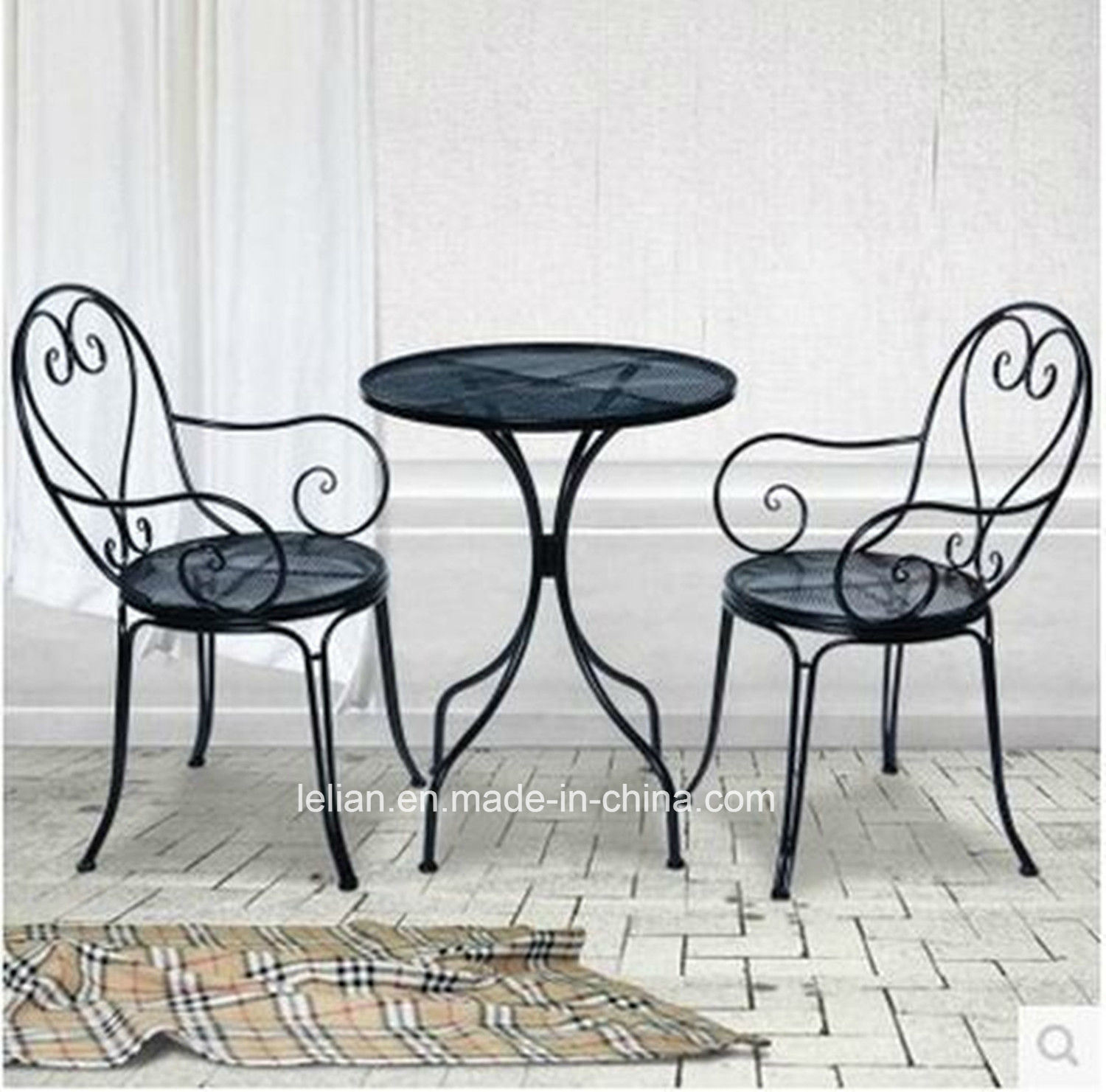 Outdoor Table And Chair Set Hot Item Outdoor Garden Furniture Iron Table And Chair Set Ll Wst002