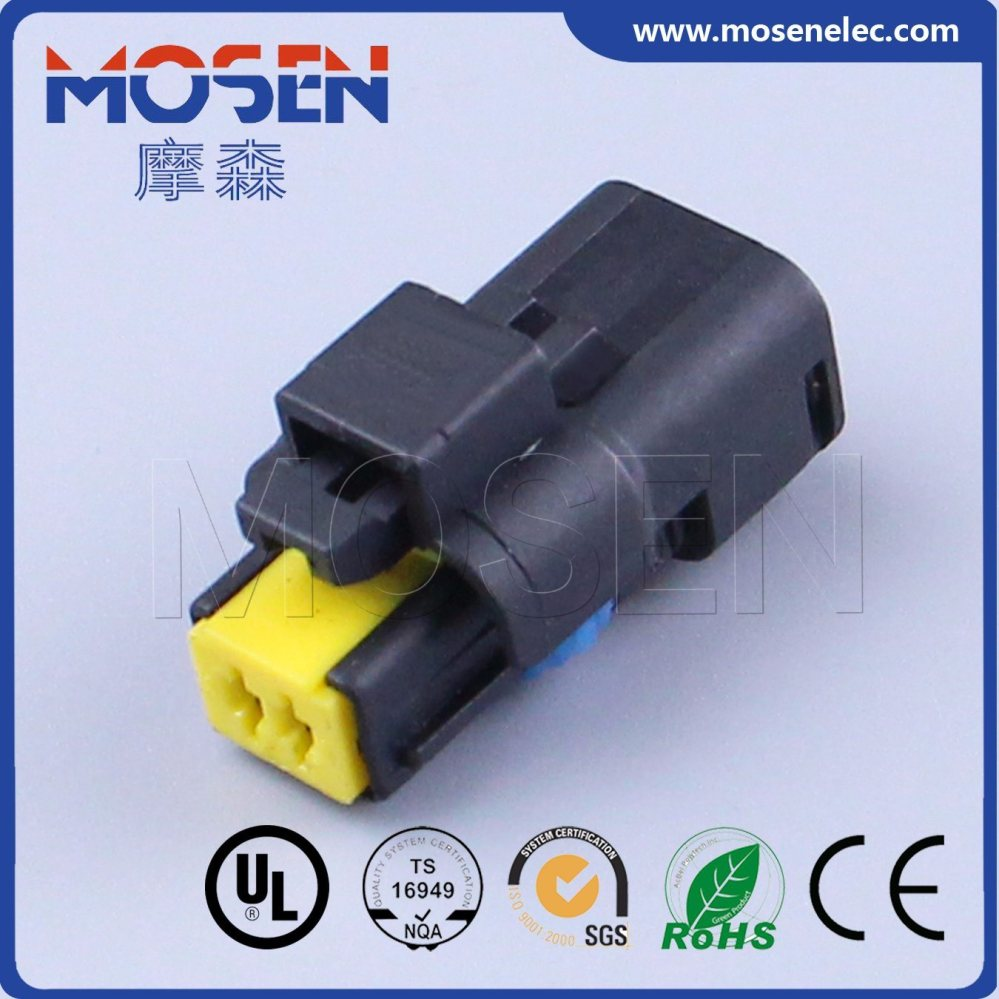 medium resolution of china fci black 2 pin pbt female electrical auto wiring harness cable plastic connector 211pc022s8049 dj7024b 1 5 21 china plastic connector