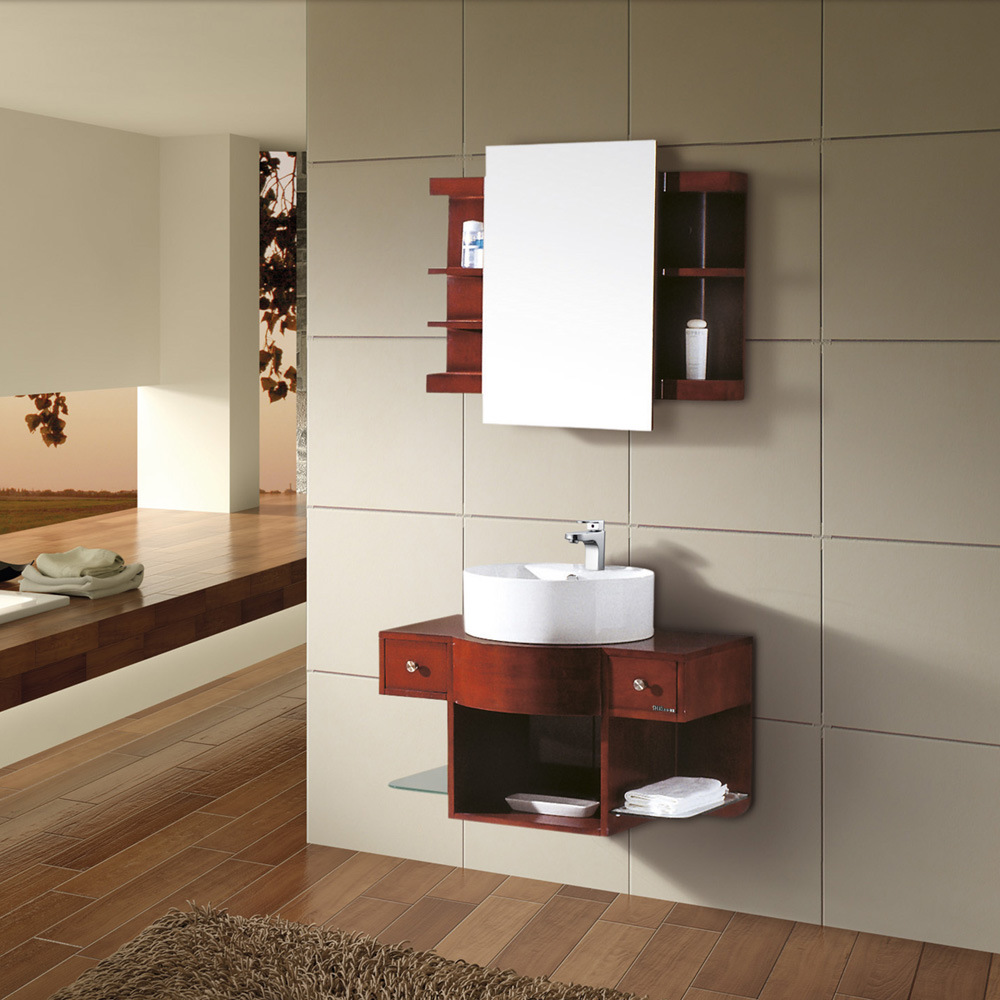 China Wall Mount Bathroom Cabinet (Kl209)