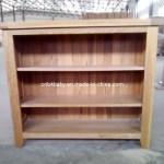 Hot Item Solid Oak Open Bookcase Book Shelf Tc6170