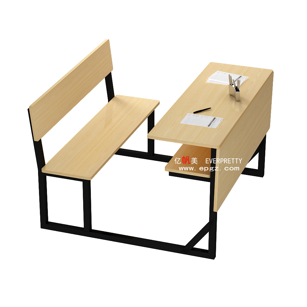 Desk And Chair Set Hot Item Professional School Furniture Study Table School Desk And Chair Set