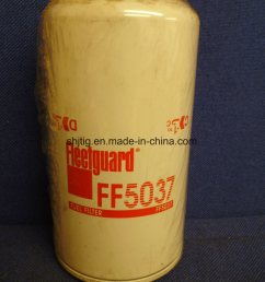 china ff5037 fuel filter spin on for dresser komatsu terex equipment detroit diesel engines china fuel filter oil filter [ 1200 x 1600 Pixel ]