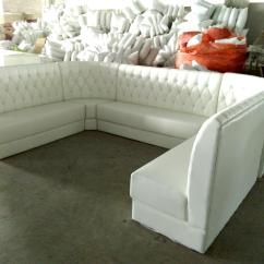 Restaurant Sofa Booth Seating Replacement Mattress For Full Size Bed China Customized U Shape In