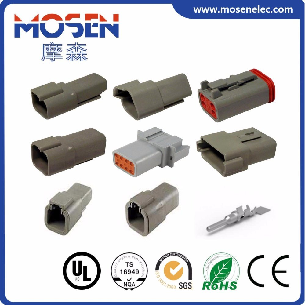 medium resolution of deutsch auto wire connector electrical connector dt06 2s dt06 3s dt06 4s dt06 6s dt06 8s dt06 12s cwhao7a wiring harness for car with approvals