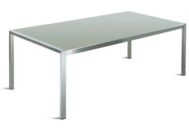 Stainless Steel Dining Room Table