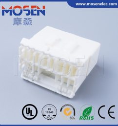 te 14pin automotive plastic nylon wire harness connector housing 174934 1 dj7141 1 7 11 [ 1227 x 1227 Pixel ]