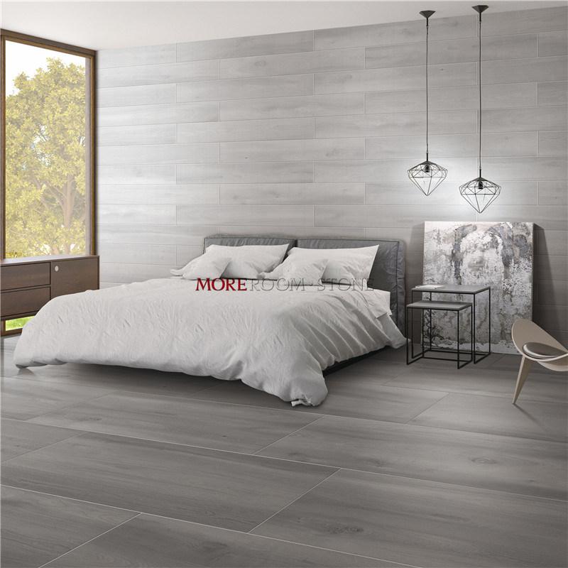 china anti slip gray timber wood look