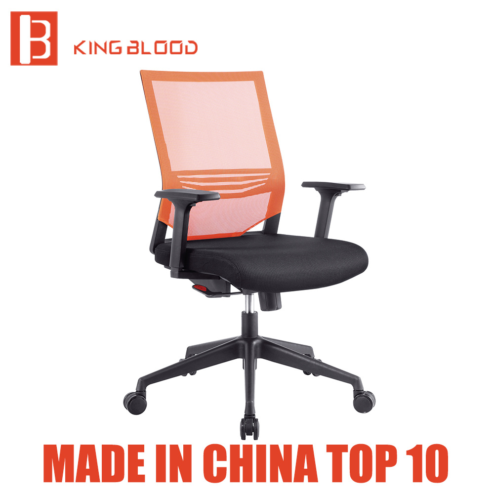 Foldable Office Chair Hot Item Chrome Foldable Medium Back Polycarbonate Mesh Office Chair Furniture