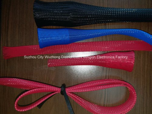 small resolution of black expandable braided sleeving auto wire harness cover sleeve for cable hose protection