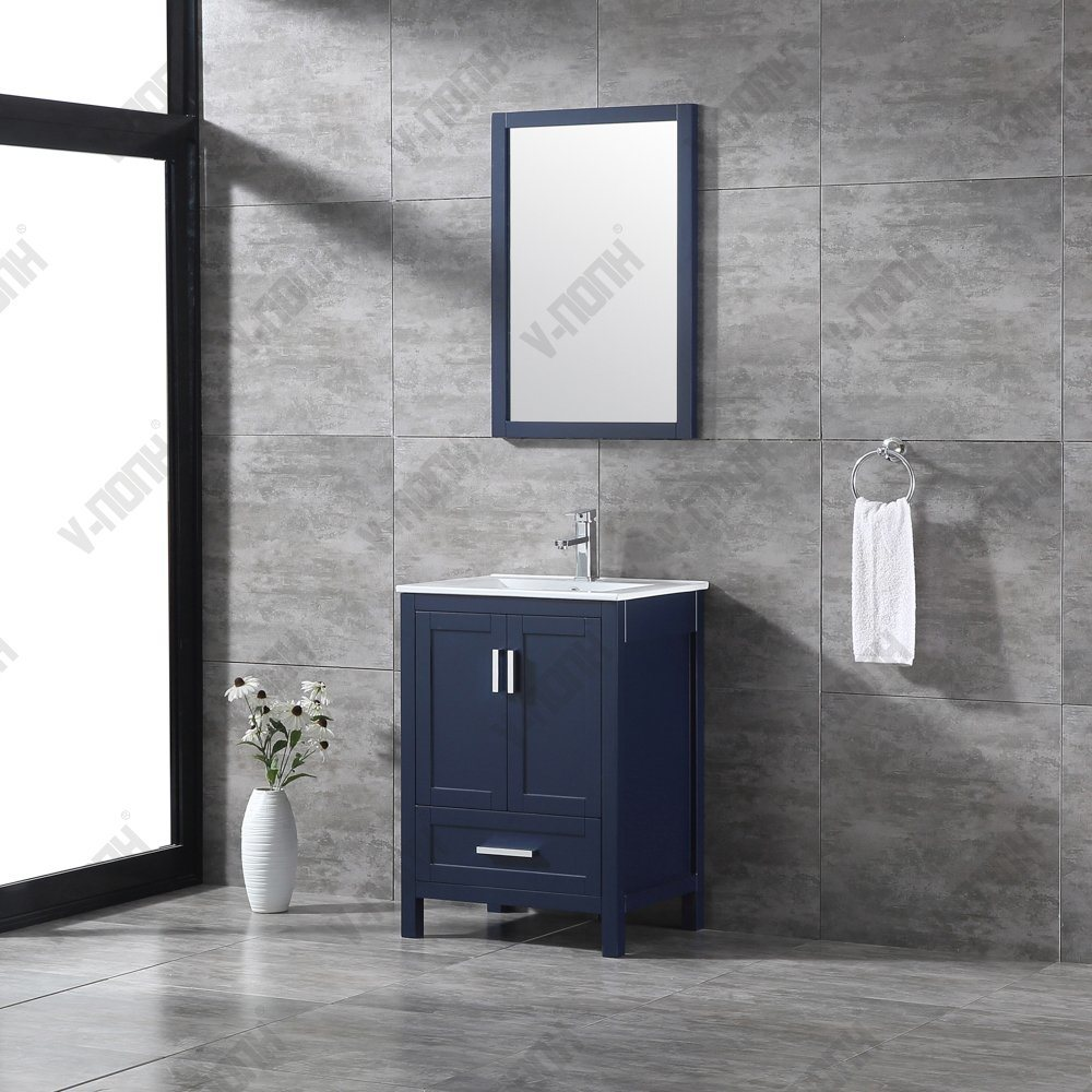24 inch vanity bathroom ➤➤➤ with ceramic, stone and glass sink. China 24 Inch Solid Wood Free Standing Bathroom Vanity China Bathroom Cabinet Bathroom Vanity