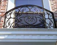Wrought Iron Balconies