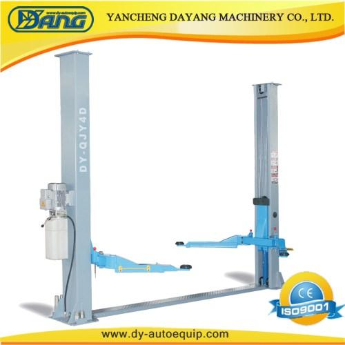 small resolution of china dayang garage 4 ton two post car lift equipment with manual lock china car hoist auto lift