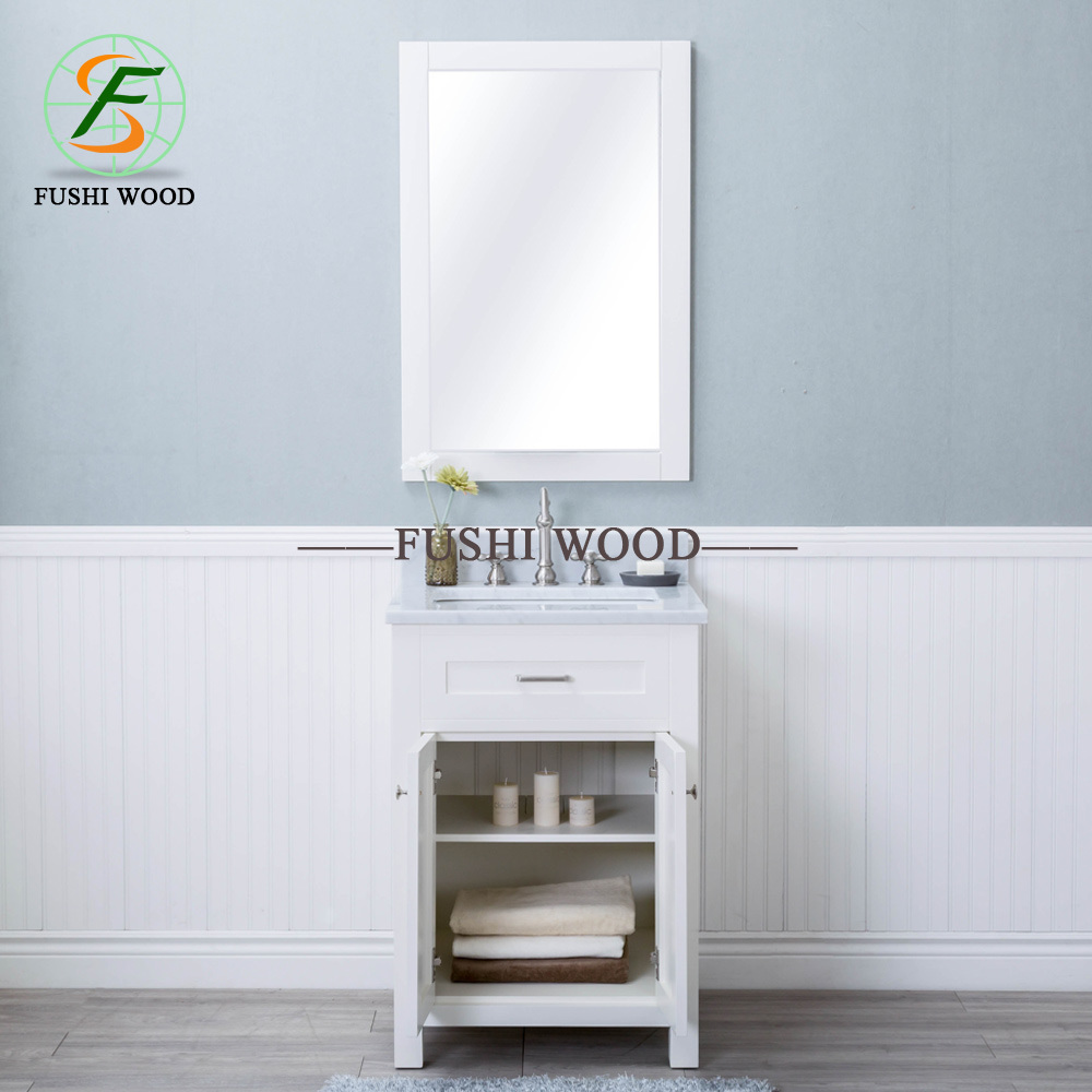 China Morden Birch Solid Wood Bathroom Vanity In Espresso With Porcelain Vanity Top China Solid Wood Bathroom Vanity Modern Side Vanity Cabinet