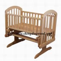 China Wooden Baby Cradle Swing Bc-020 - China Baby Cradle ...