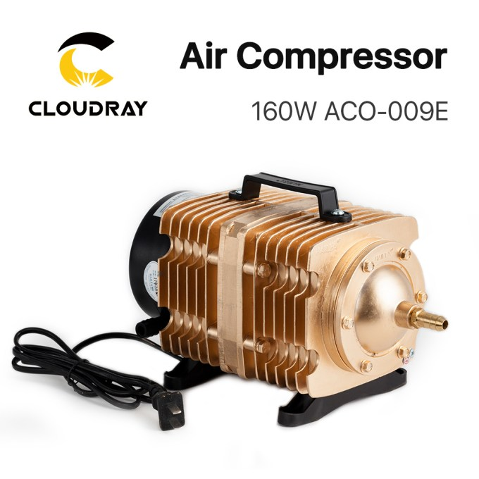 China Cloudray Cl430 Laser Machine Parts Air Compressor Electrical Magnetic 160w Aco 009e China Air Compressor Electrical Magnetic