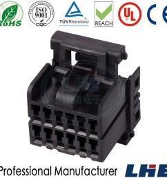 china 174045 2 12 pin female pa66 gf25 automotive plug wire harness connector amp china connector amp amp 12 pin connector [ 1000 x 1000 Pixel ]