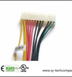china customized electric 20 pin wire harness with molex connector china wiring harness cable assembly [ 1200 x 848 Pixel ]