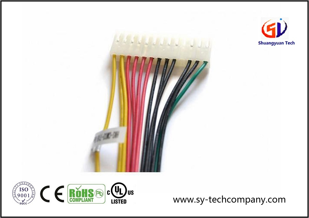 hight resolution of china customized electric 20 pin wire harness with molex connector china wiring harness cable assembly