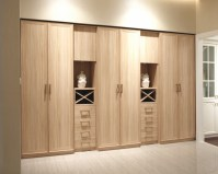 China Modern Style Laminate MDF Swing Door Living Room ...