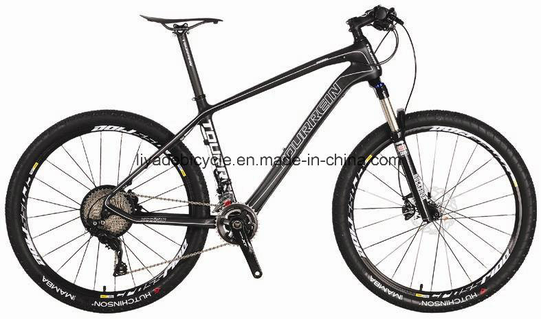 China 26 Inch Carbon Fiber Frame Mountain Bike for Men