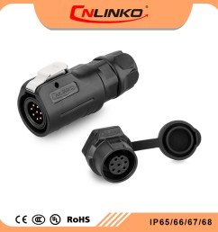 china cnlinko ul approved male female ac 8 pin connector small wire socket wiring harness electronics waterproofs connectors china power connector  [ 1000 x 1000 Pixel ]