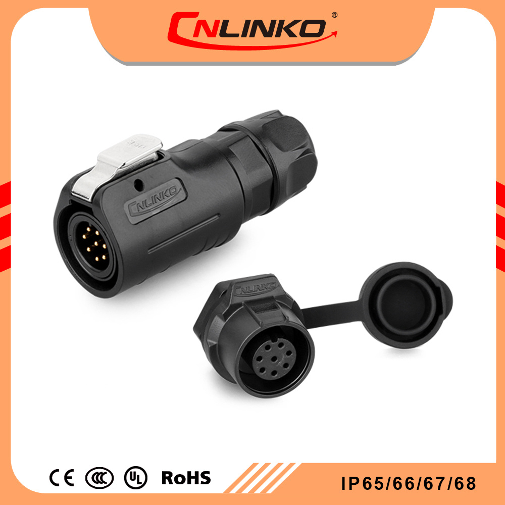 hight resolution of china cnlinko ul approved male female ac 8 pin connector small wire socket wiring harness electronics waterproofs connectors china power connector
