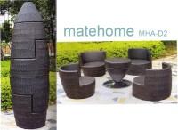 China Garden / Outdoor Furniture / Rattan Chair (MHA-D2 ...